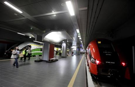 Poland Euro 2012 Trains