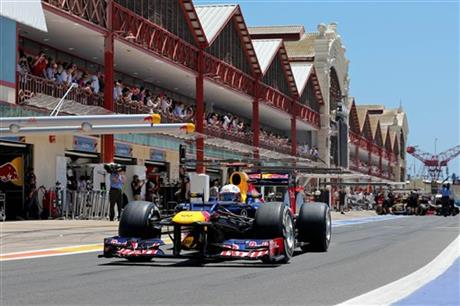 European Auto Racing on Spain F1 European Gp Auto Racing