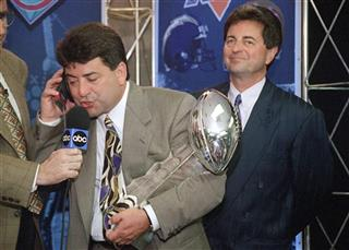 Super Bowl DeBartolo Football