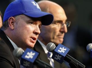 Eli Capilouto, Mark Stoops