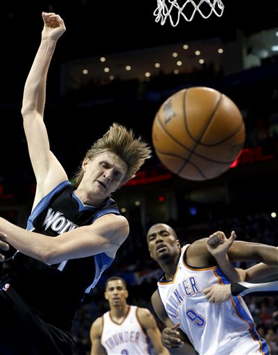 Andrei Kirilenko, Serge Ibaka