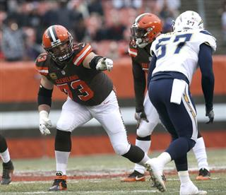 Joe Thomas, Spencer Drango, Robert Griffin III