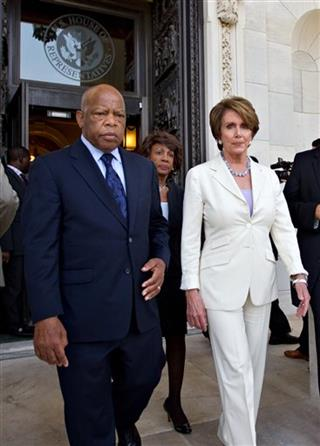 Nancy Pelosi, John Lewis, Maxine Waters