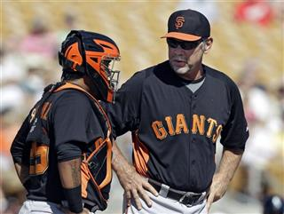 Bruce Bochy, Hector Sanchez