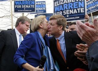 Edward M. Kennedy, Jr., Elizabeth Warren, Patrick Kennedy