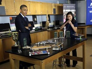 Barack Obama, Anh Ly