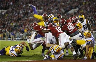 LSU Struggling Line Football