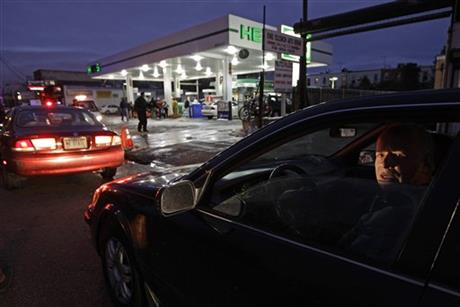 US Superstorm-Gas Rationing