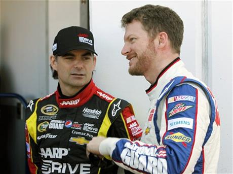 Jeff Gordon, Dale Earnhardt Jr.