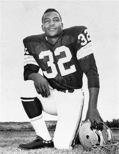 Browns Jim Brown Football