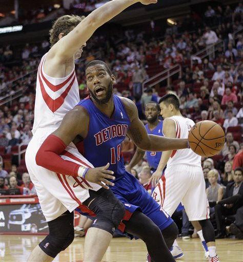 Pistons-Rockets 3/1/2014 | Photo Gallery