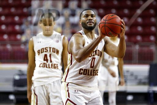 COLLEGE BASKETBALL: FEB 27 Notre Dame at Boston College
