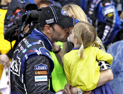 Jimmie Johnson, Genevieve Johnson