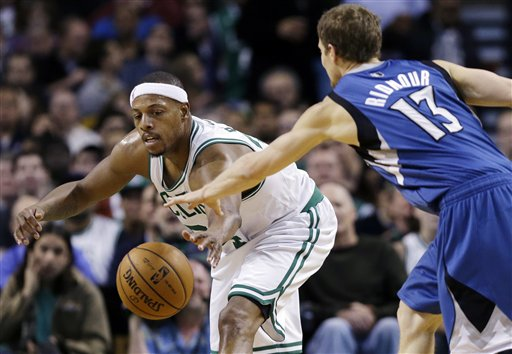Paul Pierce, Luke Ridnour