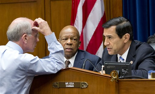 Darrell Issa, Elijah Cummings, Peter Welch