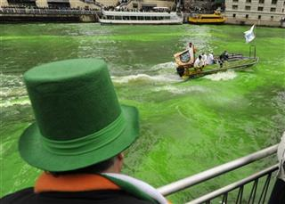 Patrick's Day, Chicago River