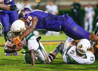 USF E Carolina Football