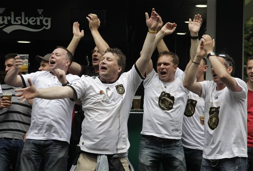 Soccer Euro 2012 Fans