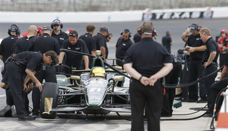 IndyCar Texas Test Auto Racing