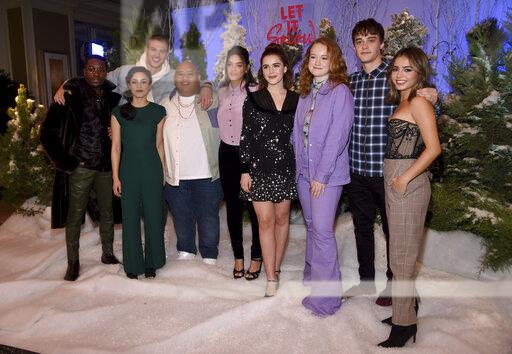 """""""Let it Snow"""" Photo Call"""
