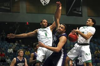 BSky North Dakota Weber St Basketball