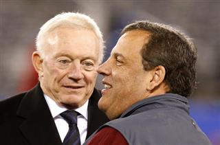 Jerry Jones, Chris Christie