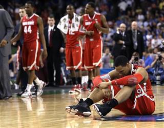 NCAA Final Four Kansas Ohio St Basketball