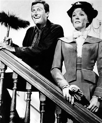 Dick Van Dyke Julie Andrews