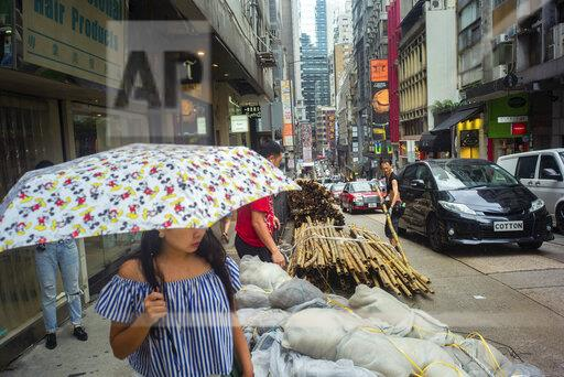 Conflict in Hong Kong - everyday life in the city