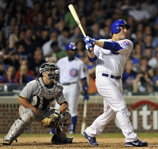 Michael McKenry, Anthony Rizzo