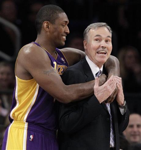 Metta World Peace, Mike D&#039;Antoni