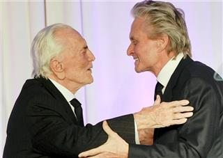 Kirk Douglas, Michael Douglas