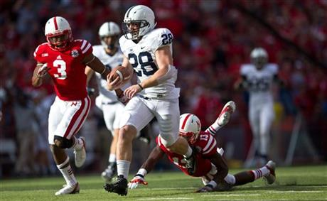 Penn St Nebraska Football