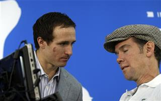Steve Gleason, Drew Brees