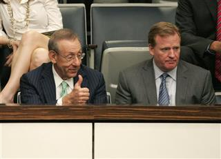Roger Goodell, Stephen Ross
