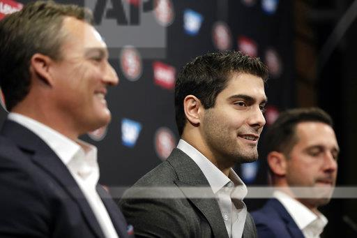49ers Garoppolo Football