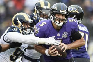Joe Flacco, Aaron Donald
