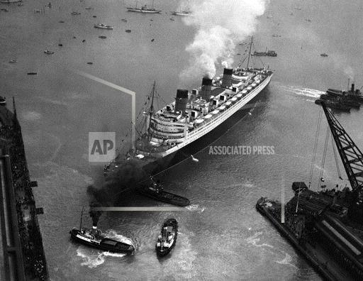RMS Queen Mary Maiden Voyage