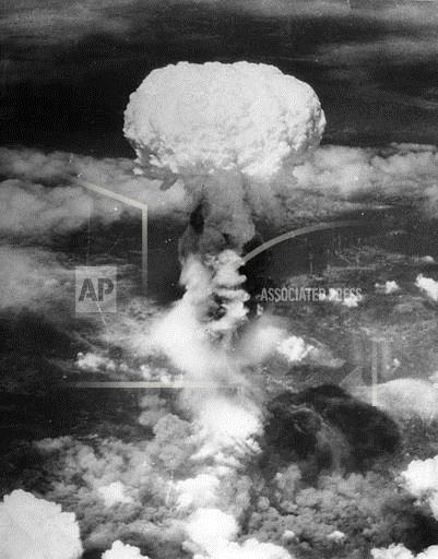 Associated Press International News Japan WWII ATOMIC BOMB NAGASAKI