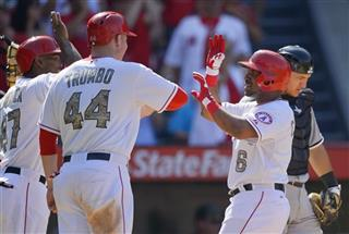 Alberto Callaspo, Mark Trumbo, Howie Kendrick
