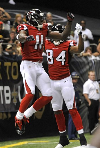 Julio Jones, Roddy White