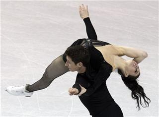 Tessa Virtue; Scott Moir