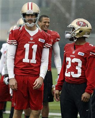 Colin Kaepernick, Alex Smith, LaMichael James