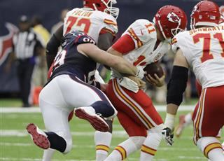 Alex Smith, J.J. Watt