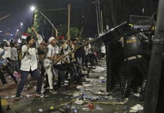 Indonesia Blasphemy Protest
