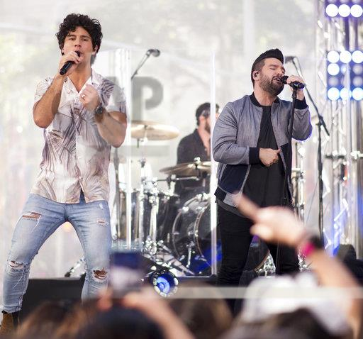 """Dan and Shay Perform on NBC's """"Today"""" Show"""