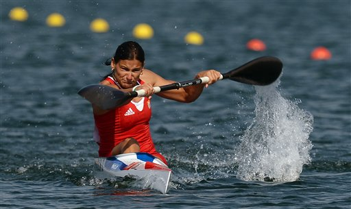 London Olympics Canoe Women