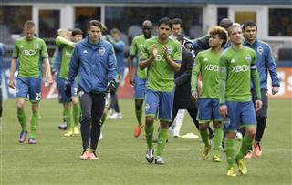 MLS Revolution Sounders Soccer