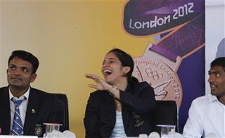 Vijay Kumar, Saina Nehwal, Yogeshwar Dutt