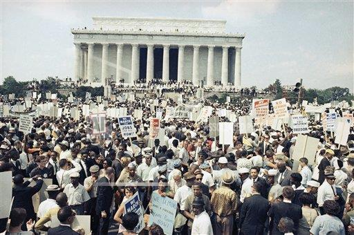 Watchf Associated Press Domestic News  Dist. of Col United States APHS129347 Civil Rights     Washington March              1963